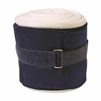 JHL Padded Support Bandages - 2 Pack - NAVY/WHITE