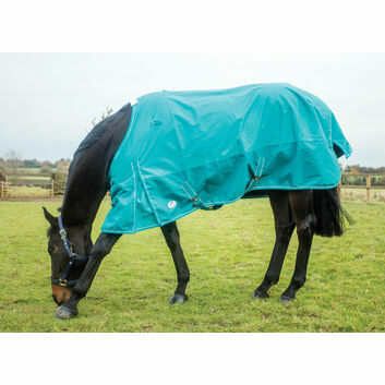 JHL Essential Turnout Rug Lightweight Turquoise