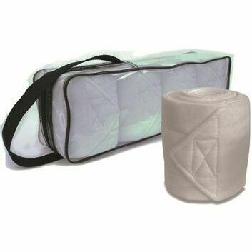 JHL Dressage Bandages - 4 Pack - WHITE