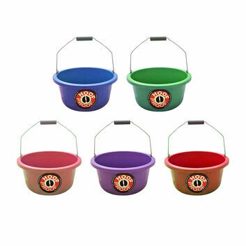 Hoof Proof Shallow Feeder/Multi Purpose Bucket - 15 Litre