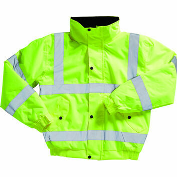 Blackrock Hi-Viz Bomber Jacket Adult Yellow