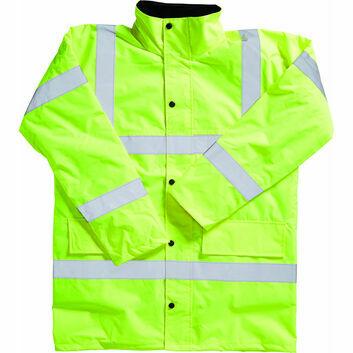 Blackrock Hi-Viz Coat Adult Yellow