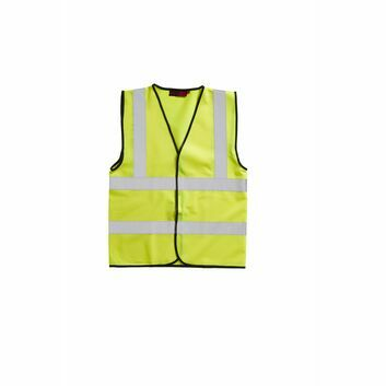 Blackrock Hi-Viz Waistcoat Sleeveless Adult Yellow