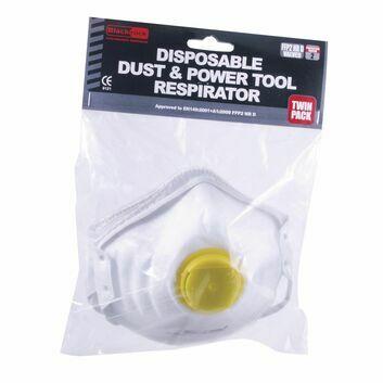 Blackrock Moulded Dust Respirator FFP2 Valved