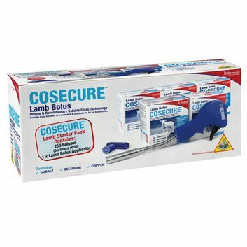 Cosecure Lamb Bolus Starter Pack - 5 x 50 PACK & APPLICATOR