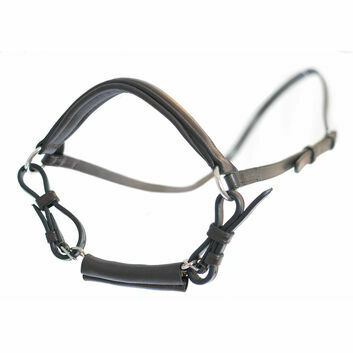 Mark Todd Noseband Drop with Chain - Full