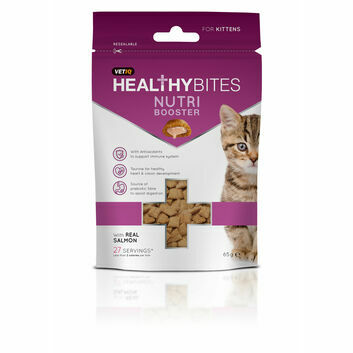 Healthy Bites Nutri Booster for Kittens - 65 GM