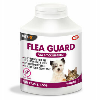 VetIQ Flea Guard Tablets for Cats & Dogs - 90 PACK