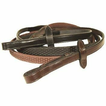 Mark Todd Reins Soft Hold Rubber - Full
