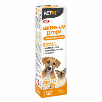 VetIQ Serene-UM Drops Calming Solution for Cats & Dogs - 100 ML