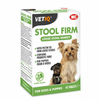 VetIQ Stool Firm Tablets for Dogs & Puppies - 45 PACK