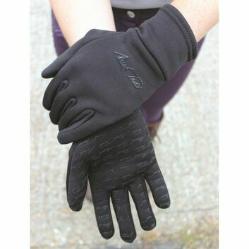 Mark Todd Winter Grip Fleece Gloves Black