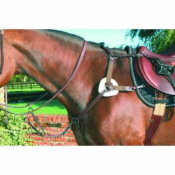 Mark Todd Breastplate 5-Point Deluxe - Cob