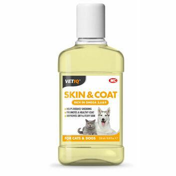 VetIQ Skin & Coat Oil for Cats & Dogs - 250 ML