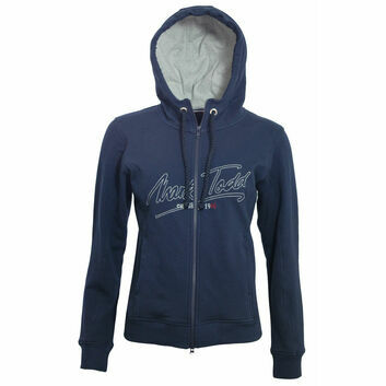 Mark Todd Hoodie Jana Ladies Navy - XSMALL