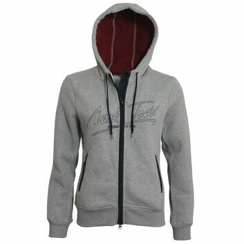 Mark Todd Hoodie Jana Ladies Grey - XSMALL