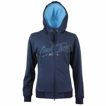 Mark Todd Hoodie Jana Ladies Navy/Sky Blue
