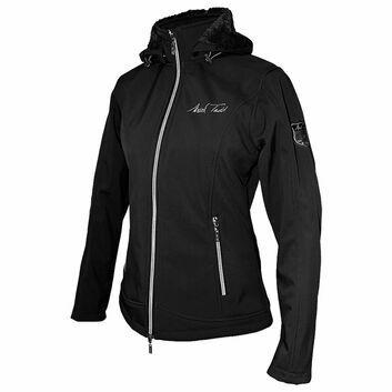 Mark Todd Softshell Jacket Fleece Lined Ladies Black