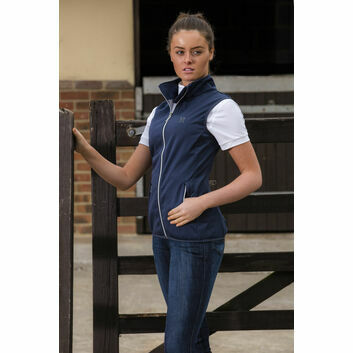 Mark Todd Gilet Softshell Ladies Navy