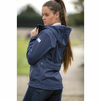 Mark Todd Softshell Jacket Ladies Navy