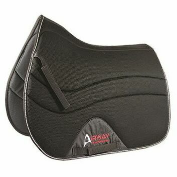 Mark Todd Airway Saddlepad - Full - BLACK