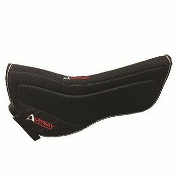 Mark Todd Airway Half Pad - Full - BLACK
