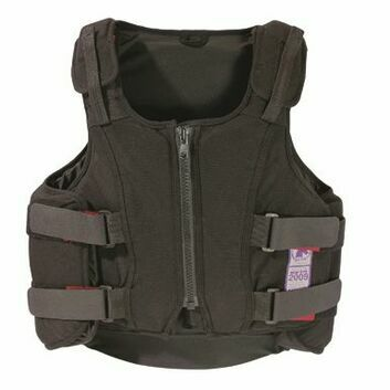 Rodney Powell Body Protector Profile Child Black