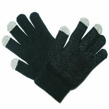 Saddlecraft Magic Gloves Touch Screen - BLACK