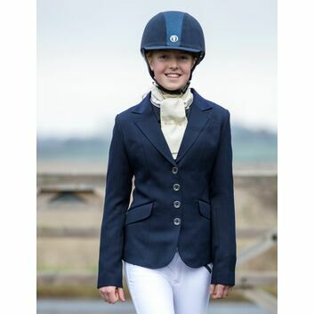 Mark Todd Show Jacket Elite Junior Navy