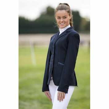 Mark Todd Show Jacket Mesh Ladies Navy