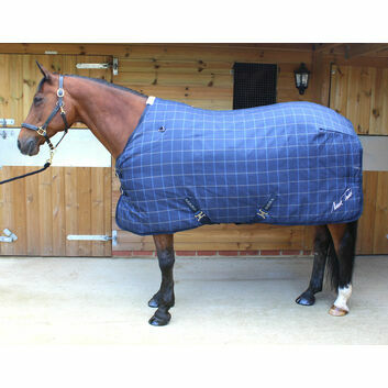 Mark Todd Stable Rug Ultimate Heavyweight Navy Plaid