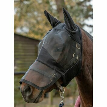 Mark Todd Fly Mask Full Face Padded Black