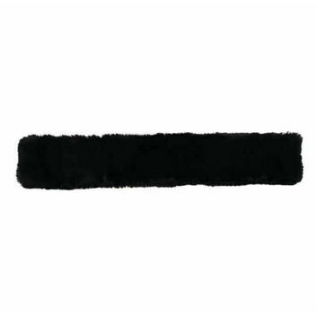 Caldene Girth Sleeve Sheepskin Black