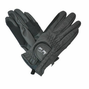 Mark Todd Synthetic Riding Gloves Adult Black