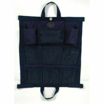 Mark Todd Hanging Kit Bag - NAVY/SILVER