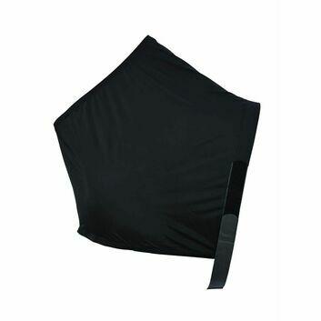 Masta Vest Lycra Shoulder Black