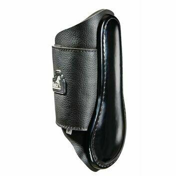 Masta Brushing Boots Leather Look Neoprene Black
