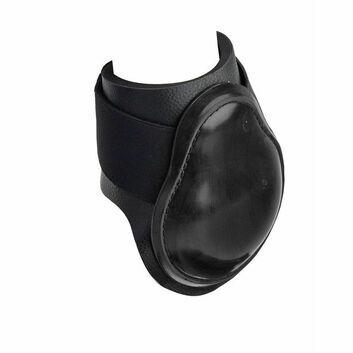 Masta Fetlock Boots Leather Look Neoprene Black