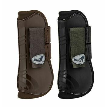 Masta Tendon Boots Open Deluxe Brown