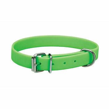 Woofmasta Dog Collar Easy Clean Neon Green