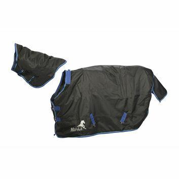 Masta Turnout Rug Avante 200g Detach-A-Neck Black