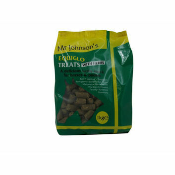 Mr. Johnson's Equiglo Treats with Herbs - 16 X 1 KG