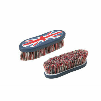 Cottage Craft Dandy Brush DM Navy/ - Large - RED/UNION JACK