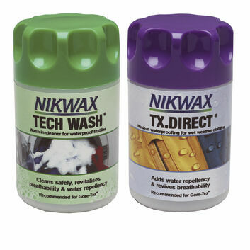 Nikwax Tech Wash/TX Direct Wash-In Twin Pack