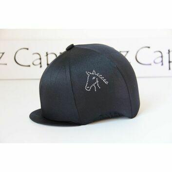 Capz Diamondz Cap Cover Lycra Horse Head