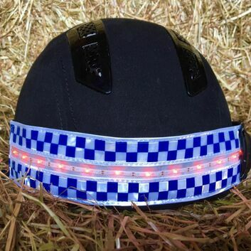 Equisafety Polite LED Rechargeable Flashing Hatband