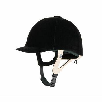 Gatehouse Jeunesse Velvet Riding Hat Black