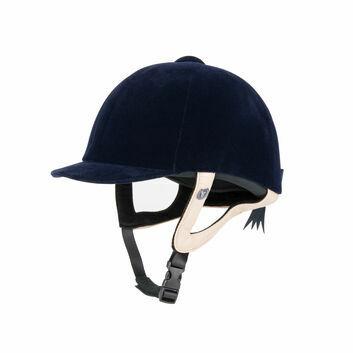 Gatehouse Jeunesse Velvet Riding Hat Navy