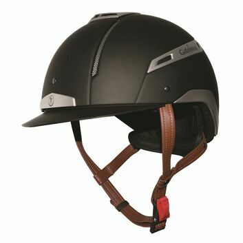 Gatehouse Volare Riding Hat Black/Silver