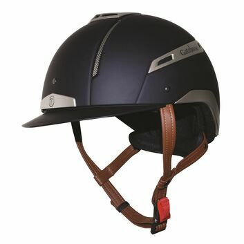 Gatehouse Volare Riding Hat Navy/Silver